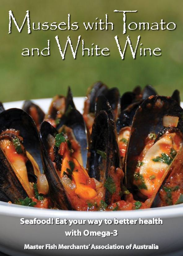 Mussels with Tomatoes and White Wine