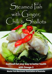 Steamed Fish with Ginger, Chilli & Shallots